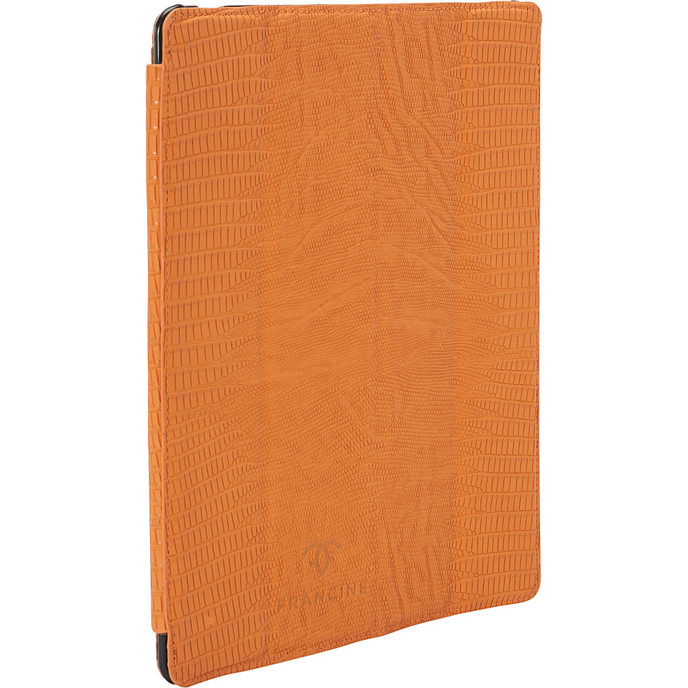 Women In Business Francine Collection 9.7 Tablet Folio for iPad Orange Women In Business Electronic Cases