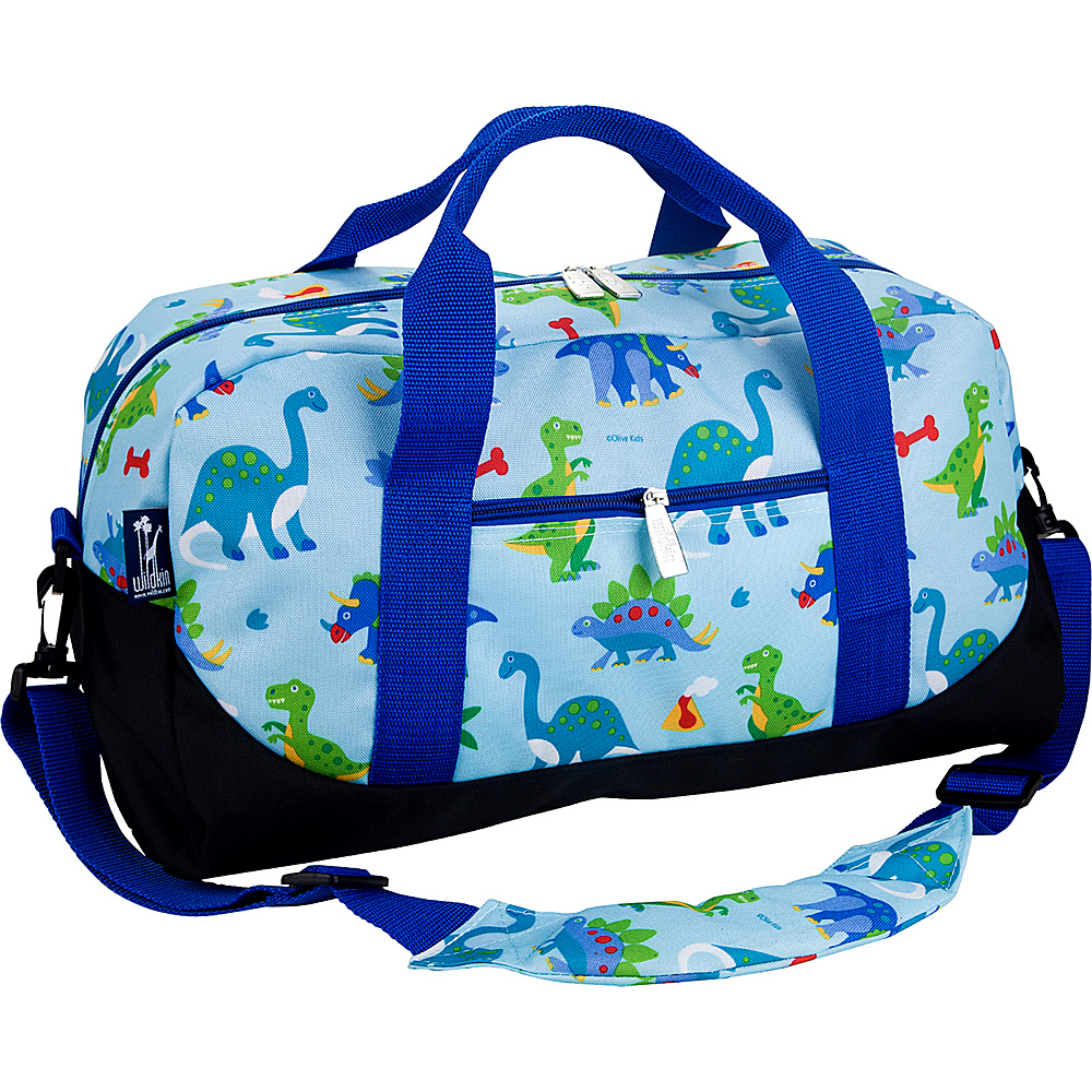 Wildkin Olive Kids Dinosaur Land Overnighter Duffel Bag Olive Kids Dinosaurland - Wildkin Rolling Duffels
