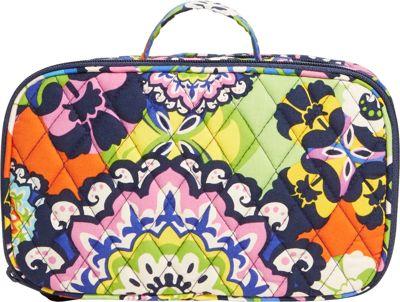 Vera Bradley Blush & Brush Makeup Case Rio - Vera Bradley Ladies Cosmetic Bags
