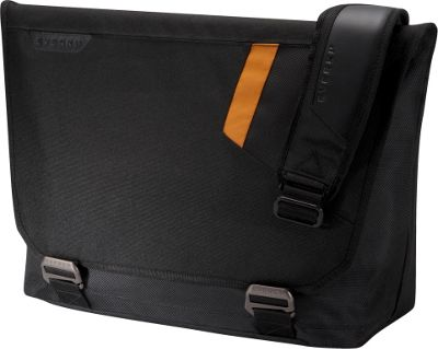 Everki Track 15.6 inch Laptop Messenger Bag Black - Everki Messenger Bags