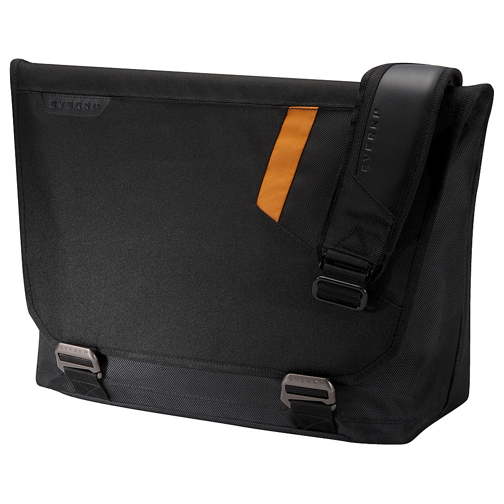 Everki Track 15.6 Laptop Messenger Bag Black Everki Messenger Bags