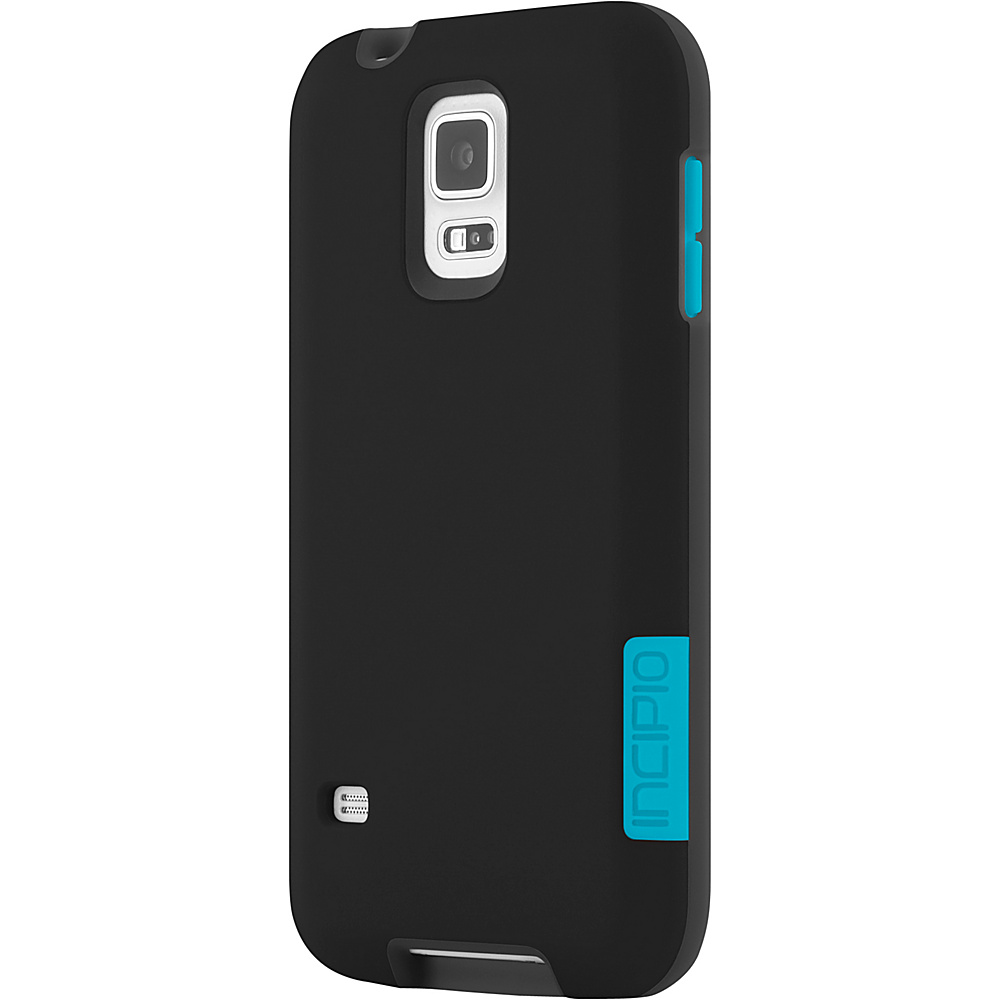 Incipio Phenom for Samsung Galaxy S5 Black/Cyan - Incipio Electronic Cases - Technology, Electronic Cases
