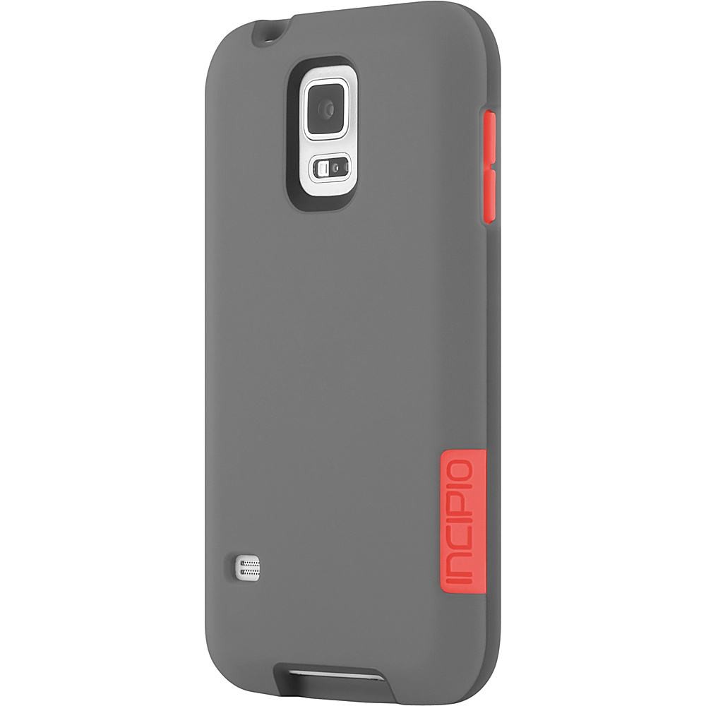 Incipio Phenom for Samsung Galaxy S5 Gray/Neon Orange - Incipio Electronic Cases - Technology, Electronic Cases