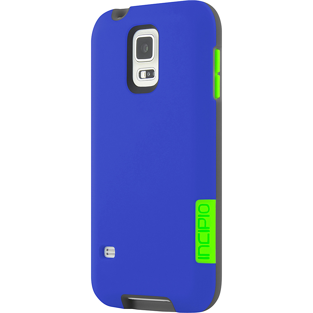 Incipio Phenom for Samsung Galaxy S5 Blue/Neon Green - Incipio Electronic Cases - Technology, Electronic Cases