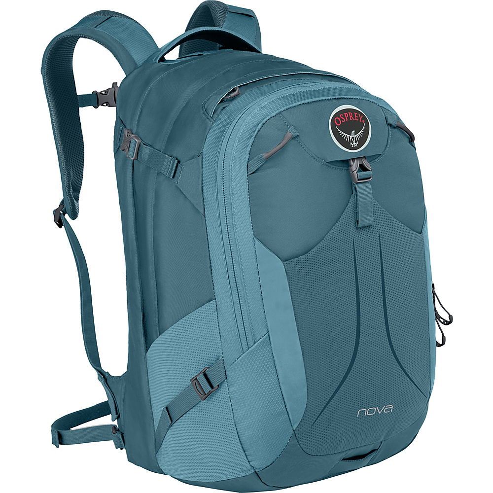 Osprey Nova Laptop Backpack Liquid Blue - Osprey Business & Laptop Backpacks - Backpacks, Business & Laptop Backpacks