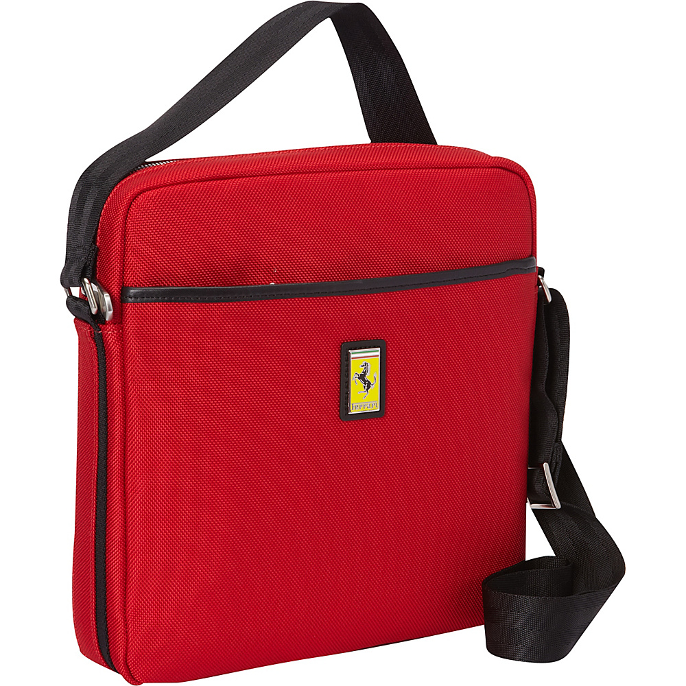 Ferrari Luxury Collection Utility Cross Body Small Reds - Ferrari Luxury Collection Messenger Bags