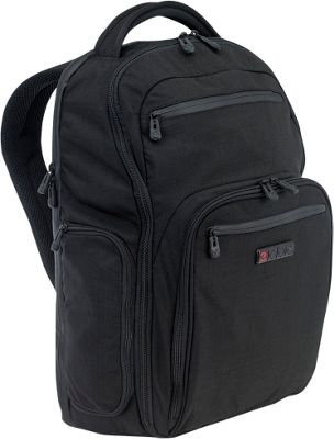 ecbc Hercules Laptop Backpack Black - ecbc Business & Laptop Backpacks