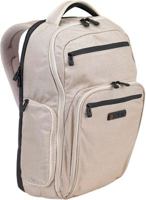 ecbc Hercules Laptop Backpack Linen - ecbc Business & Laptop Backpacks