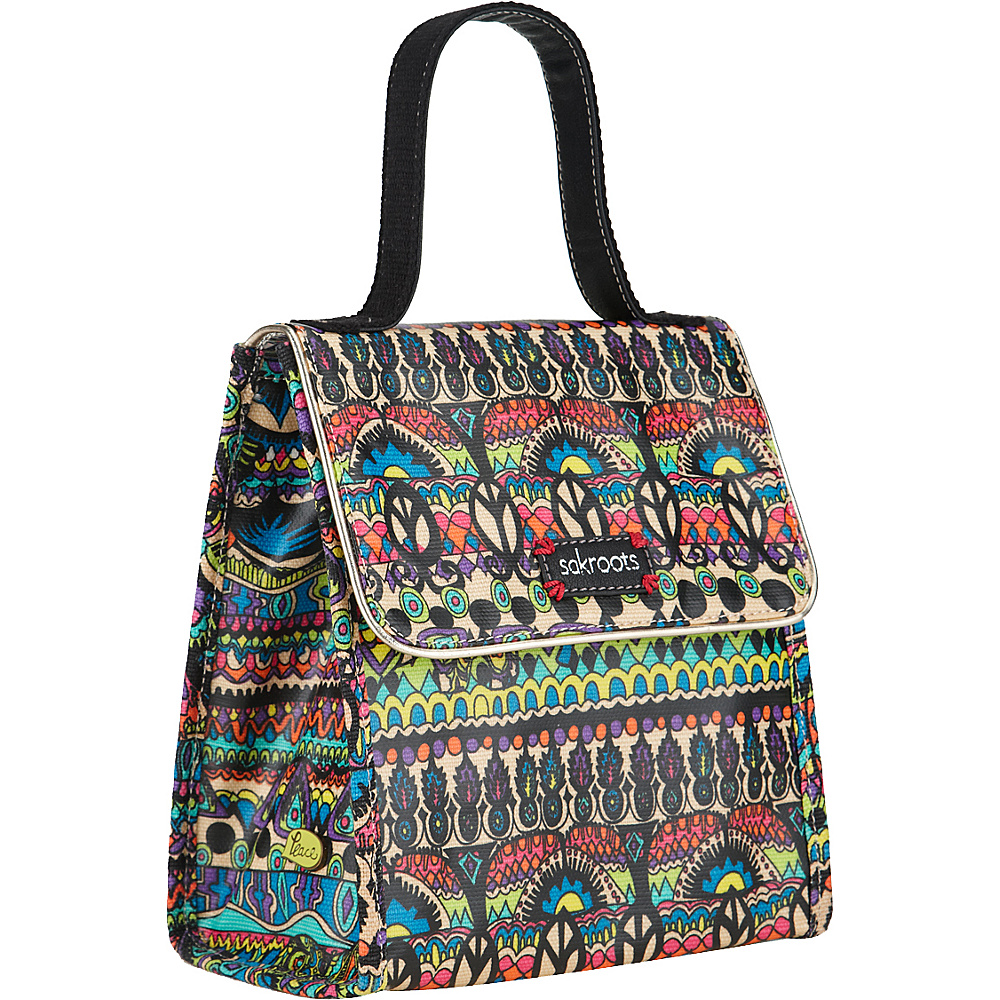 Sakroots Artist Circle Flap Lunch Bag Radiant One World - Sakroots Travel Coolers - Travel Accessories, Travel Coolers