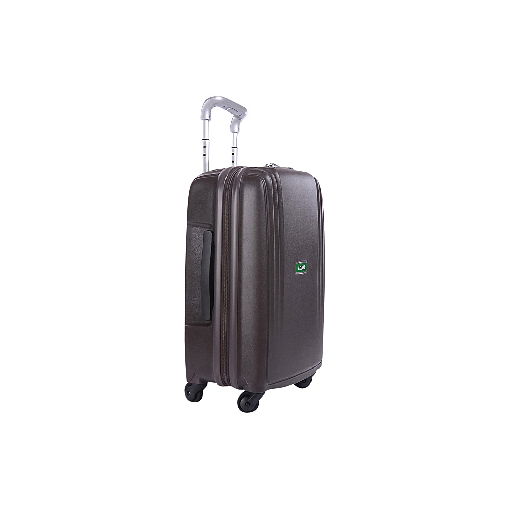 Lojel Streamline Carry On Luggage Coffee Lojel Hardside Carry On