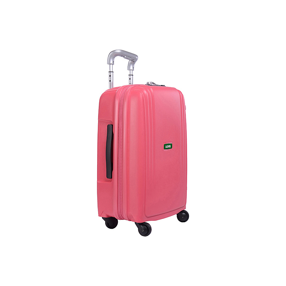 Lojel Streamline Carry On Luggage Pink Lojel Hardside Carry On