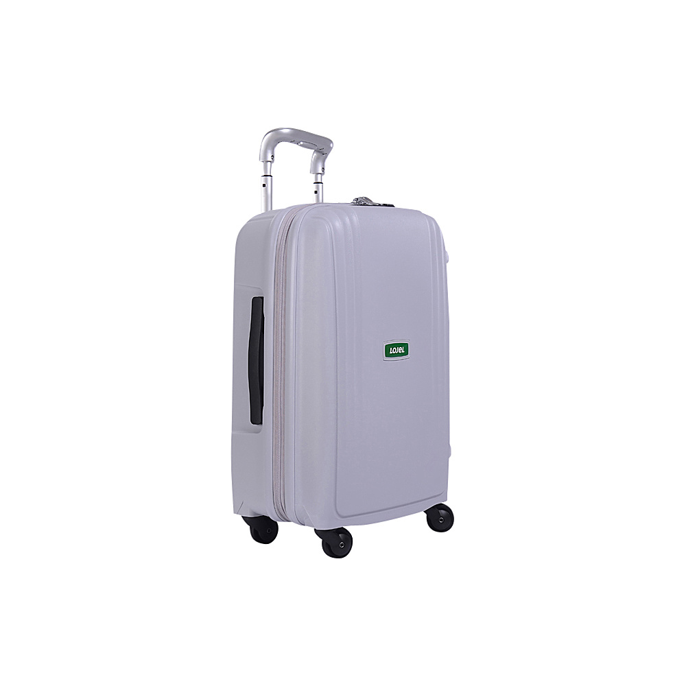 Lojel Streamline Carry On Luggage Grey Lojel Hardside Carry On
