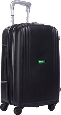 Lojel Streamline Carry-On Luggage Black - Lojel Hardside Carry-On