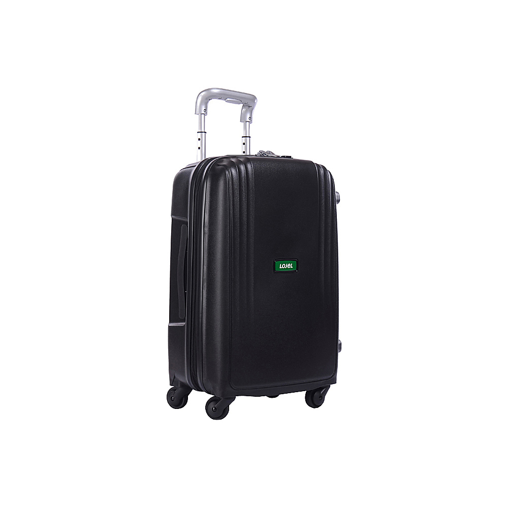 Lojel Streamline Carry On Luggage Black Lojel Hardside Carry On