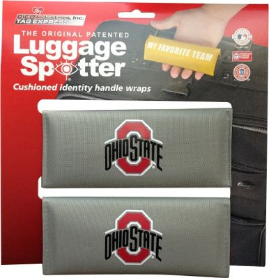 Luggage Spotters Luggage Spotters NCAA Ohio State Buckeyes Luggage Spotter Gray - Luggage Spotters Luggage Accessories