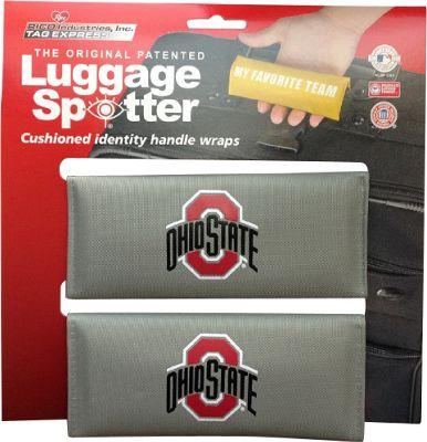 Luggage Spotters NCAA Ohio State Buckeyes Luggage Spotter Gray - Luggage Spotters Luggage Accessories