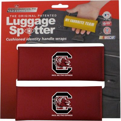 Luggage Spotters NCAA South Carolina Gamecocks Luggage Spotter Red - Luggage Spotters Luggage Accessories