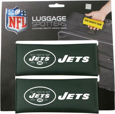 Luggage Spotters NFL New York Jets Luggage Spotter Green - Luggage Spotters Luggage Accessories
