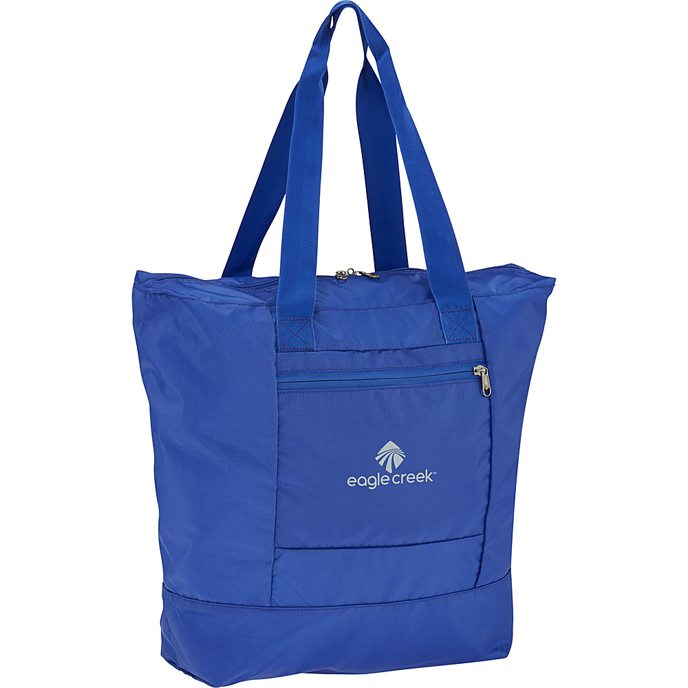 Eagle Creek Packable Tote Blue Sea - Eagle Creek Lightweight packable expandable bags