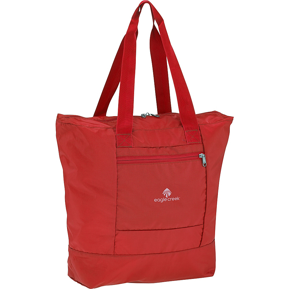 Eagle Creek Packable Tote Red Fire - Eagle Creek Lightweight packable expandable bags