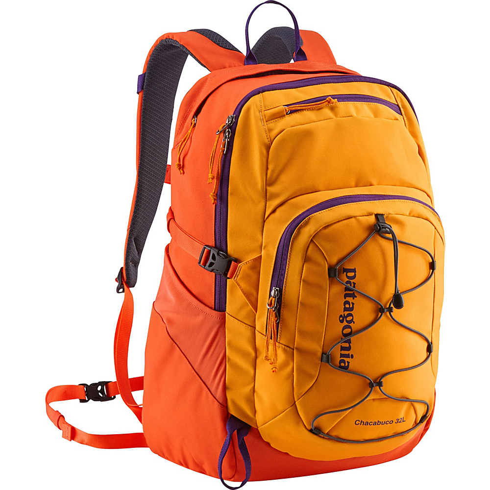 Patagonia Chacubuco Pack 32L Sporty Orange/Campfire Orange - Patagonia Business & Laptop Backpacks - Backpacks, Business & Laptop Backpacks
