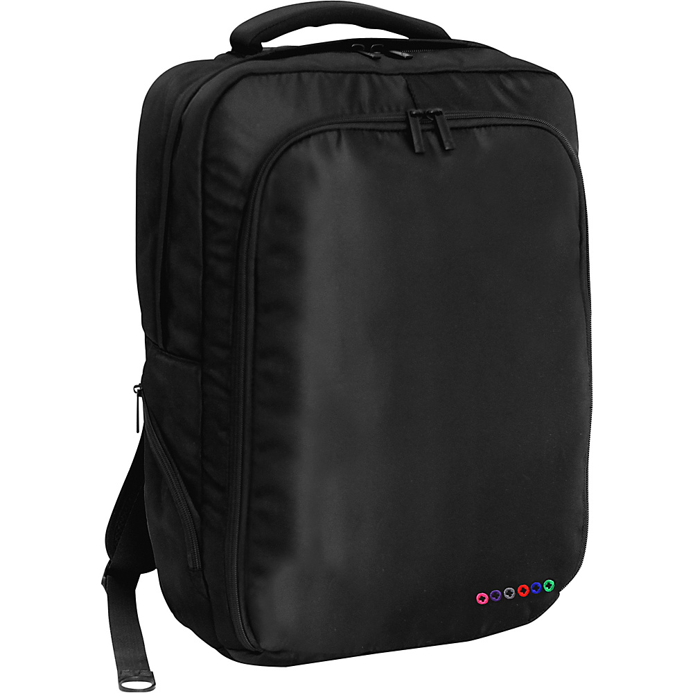 J World New York Story Laptop Backpack Black J World New York Business Laptop Backpacks