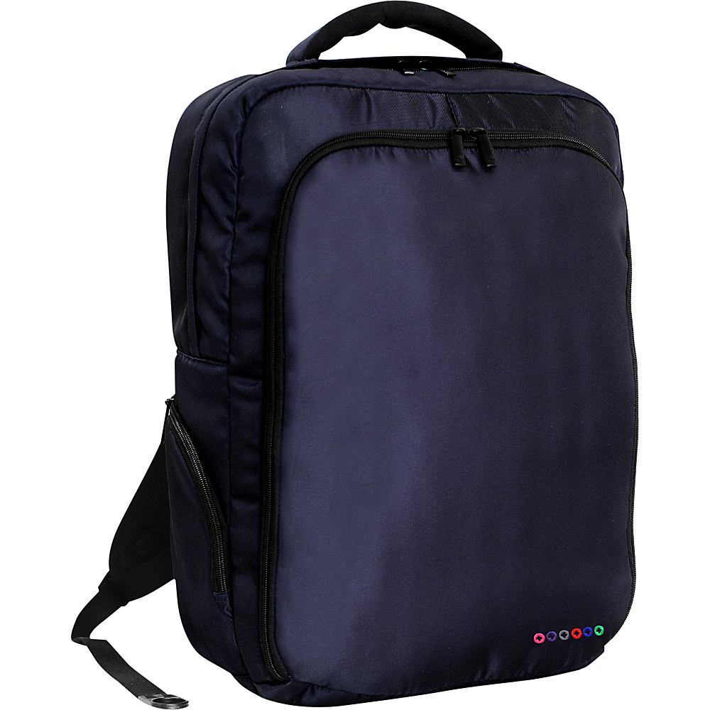 J World New York Story Laptop Backpack Navy J World New York Business Laptop Backpacks