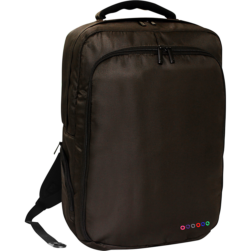 J World New York Story Laptop Backpack Brown J World New York Business Laptop Backpacks