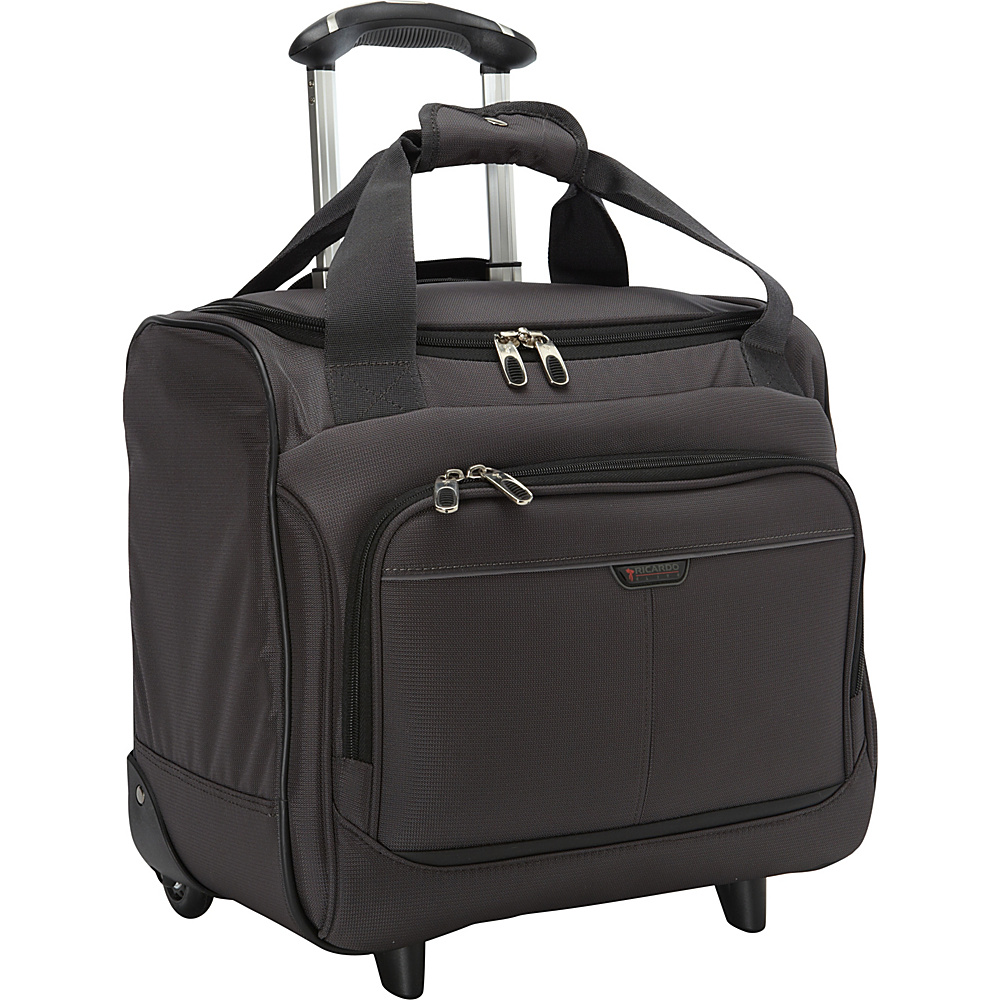 Ricardo Beverly Hills Mar Vista 16-Inch 2 Wheeled Rolling Tote Graphite - Ricardo Beverly Hills Luggage Totes and Satchels