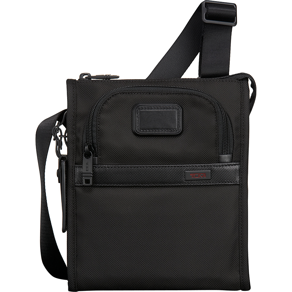 Tumi Alpha 2 Pocket Bag Small Black Tumi Designer Handbags