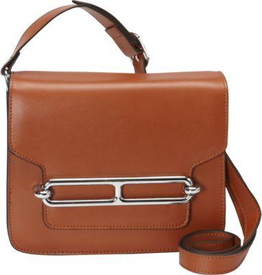 Donna Bella Designs Harper Crossbody Brown - Donna Bella Designs Leather Handbags
