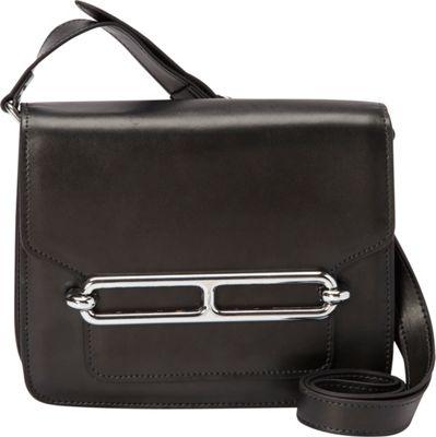 Donna Bella Designs Harper Crossbody Black - Donna Bella Designs Leather Handbags