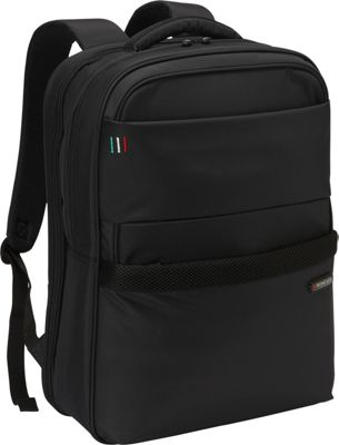 Roncato Venice Backpack Tablet/Laptop Black - Roncato Business & Laptop Backpacks