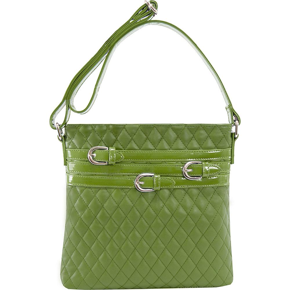 Parinda Clarice Crossbody Green - Parinda Manmade Handbags
