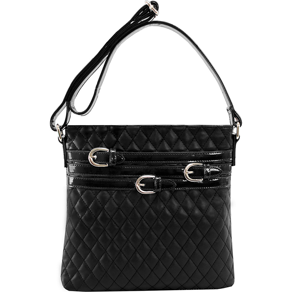 Parinda Clarice Crossbody Black Parinda Manmade Handbags