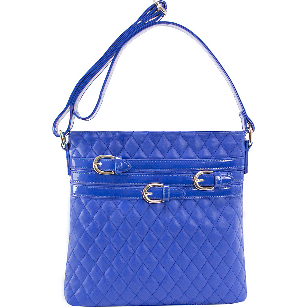 Parinda Clarice Crossbody Blue Parinda Manmade Handbags