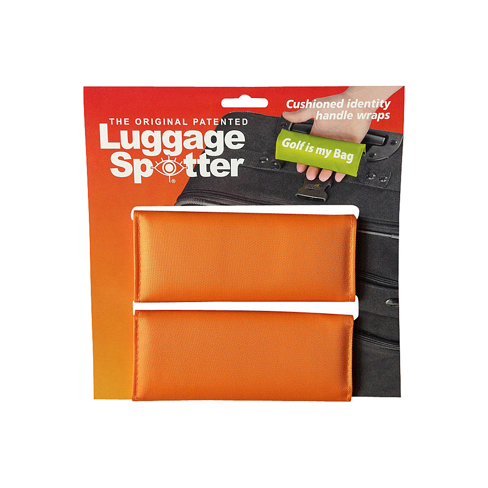 Luggage Spotters Bright Orange Luggage Spotter Orange Luggage Spotters Luggage Accessories