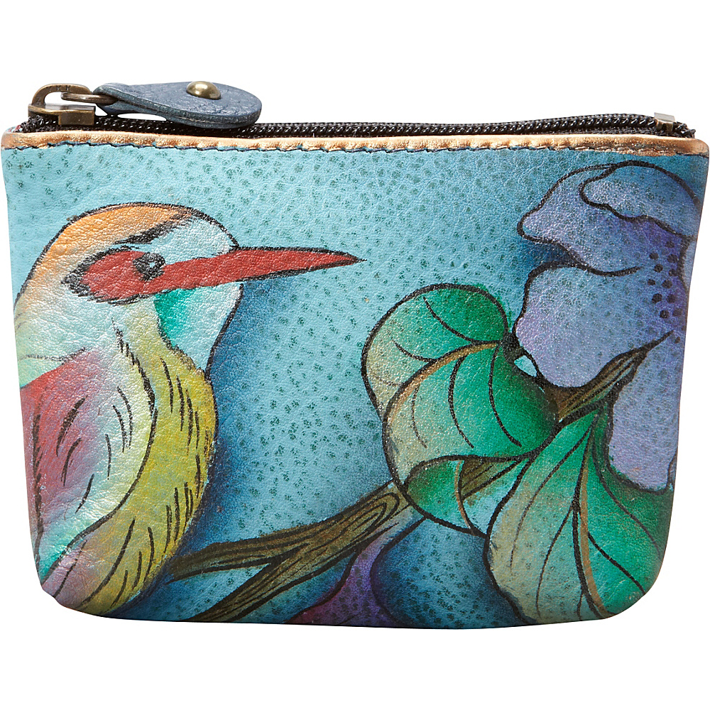 Anuschka Small Coin Purse Hawaiian Twilight - Anuschka Women's SLG Other