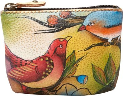 Anuschka Small Coin Purse Two for Joy - Anuschka Women's SLG Other