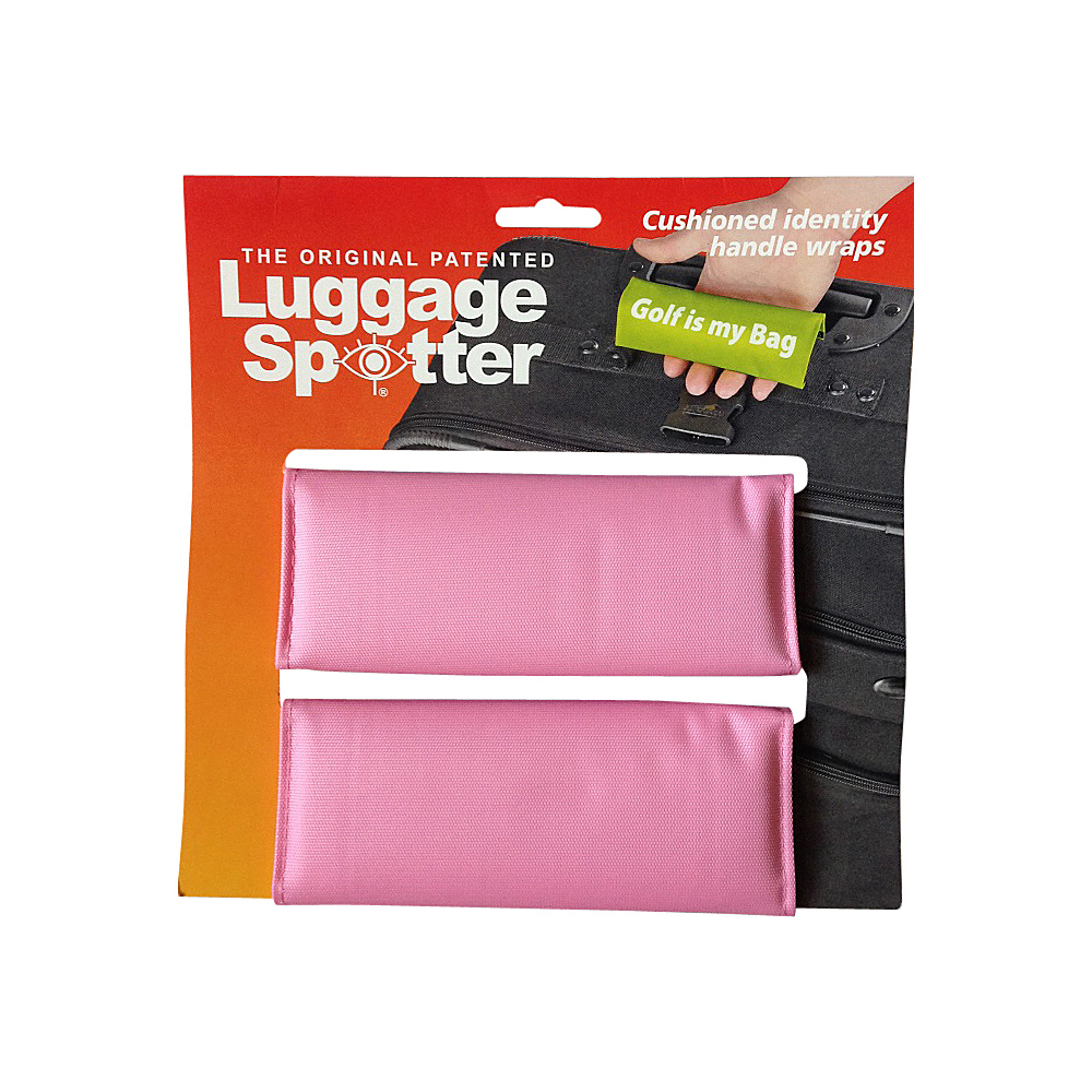 Luggage Spotters Bright Pink Luggage Spotter Pink Luggage Spotters Luggage Accessories