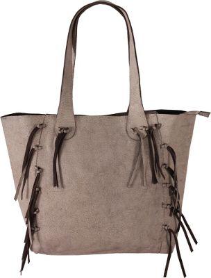 Latico Leathers Colette Tote Crackle White - Latico Leathers Leather Handbags