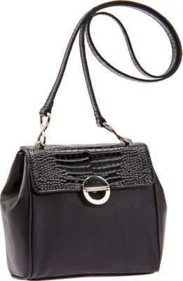 Image of Baggs Alyssa Shoulder Bag Black - Baggs Leather Handbags