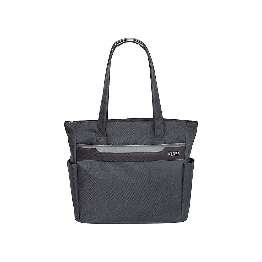"""Ricardo Beverly Hills Bel Aire 18"""" Shopper Tote Charcoal - Ricardo Beverly Hills Fabric Handbags"""