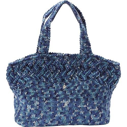 Helen Kaminski Bonnie Tote Ink Melange/Indigo - Helen Kaminski Designer Handbags