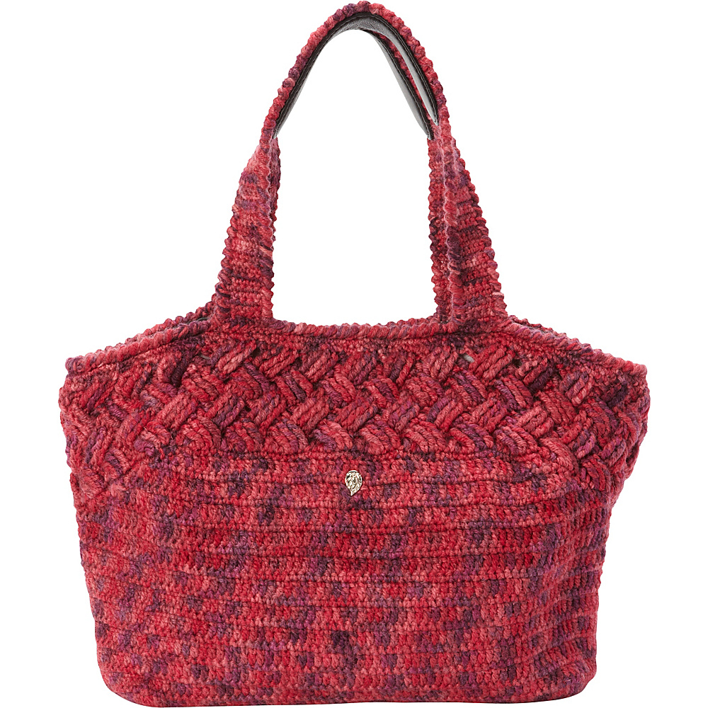 Helen Kaminski Bonnie Tote Red/Black - Helen Kaminski Designer Handbags