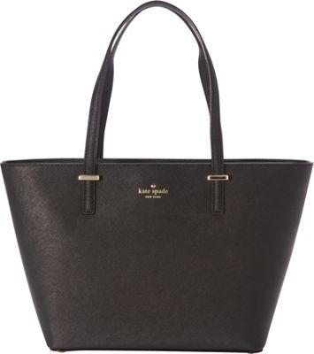 kate spade new york Cedar Street Mini Harmony Tote Black - kate spade new york Designer Handbags