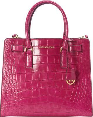 MICHAEL Michael Kors Dillon Large N/S Tote Fuschia - MICHAEL Michael Kors Designer Handbags