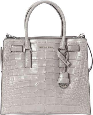MICHAEL Michael Kors Dillon Large N/S Tote Ash Grey - MICHAEL Michael Kors Designer Handbags
