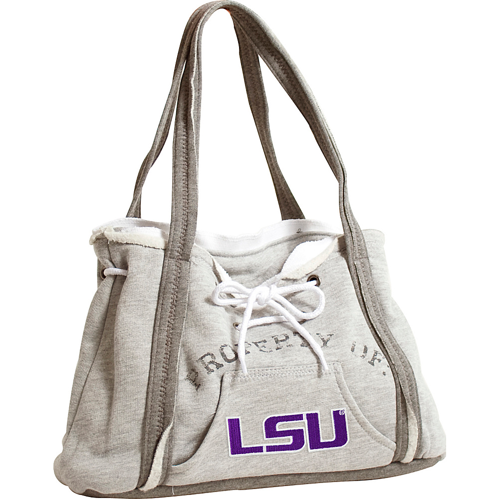 Littlearth Hoodie Purse - SEC Teams Louisiana State University - Littlearth Fabric Handbags - Handbags, Fabric Handbags