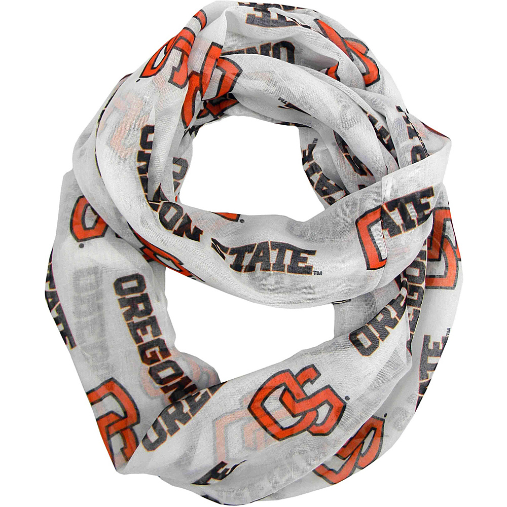 Littlearth Sheer Infinity Scarf - Pac 12 Teams Oregon State University - Littlearth Hats/Gloves/Scarves - Fashion Accessories, Hats/Gloves/Scarves